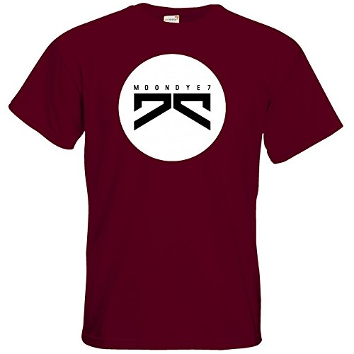 getshirts - Moondye7 official Merchandise - T-Shirt - Logo 3 Burgundy