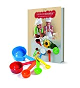 Kinderleichte Becherküche 03634 Backset 6-tlg. für Kinder inkl. Messbecher
