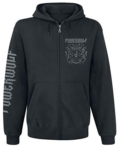 Powerwolf Crest - Metal is Religion Kapuzenjacke schwarz XL