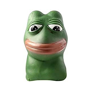 ASVP Shop Pepe The Frog Mask - Made from latex and hand painted - The perfect mask for anyone who is a fan of memes