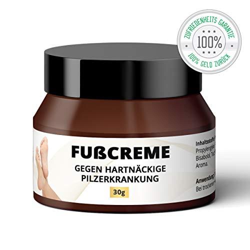 Fußpilz Creme | mit Pferdesalbe | Gegen hartnäckige Pilzinfektionen, Fußschweiß, Entzündungen,...
