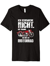 Schnarchen Traum Motorrad T-Shirt