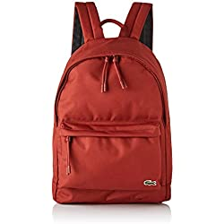 Lacoste homme Nh2677ne Sac a dos Rouge (Burnt Henna)