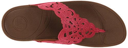 Fitflop Sandalen Flora Himbeere Rot