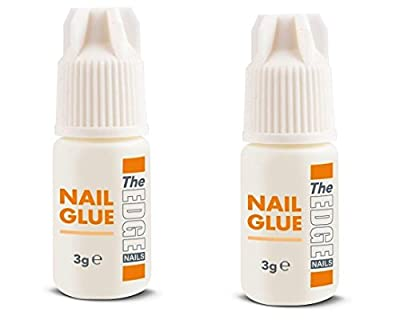 The Edge 3G Adhesive False Super Strong Nail Tips - Pack of 2 by The Edge