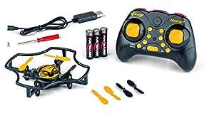 Carson 500507136 500507136-X4 Hornet, 2.4G RTF, Modelos de avión teledirigido, Modelo, cuadricóptero/dron, Incluye Pilas y Control Remoto, 100% Listo para Volar, 2,4 GHz, Color Negro