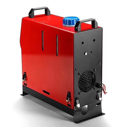 waysad Nuovo riscaldatore d'Aria 5000 W Diesel 5KW 12 V / 24V riscaldatore di Automobile per Il silenziatore dell'ultimo Interruttore a Chiave LCD del Bus a Vapore del traghetto