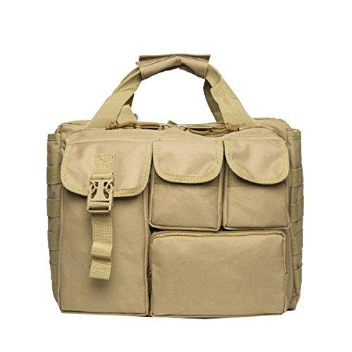 Yy.f Taktische Tasche Tarnung Tasche Wasserdichtes Oxford-Tuch Outdoor-Schultertasche Rucksack Militärbeutel Taschen-Computer 2 Farben Yellow