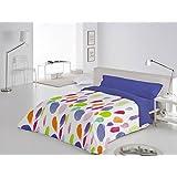 Funda Nórdica 3 piezas Barmel cama de 90 color Azul