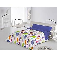 Funda Nórdica 3 piezas Barmel cama de 150 color Azul