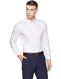 Arrow Men's Printed Slim Fit Business Shirt