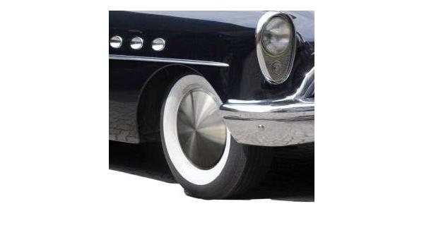 Universell Passende Edelstahl Gebürstete Radzierblende 1 Stück 13 Zoll Moon Caps Für Pkw Oldtimer Und Youngtimer Auto