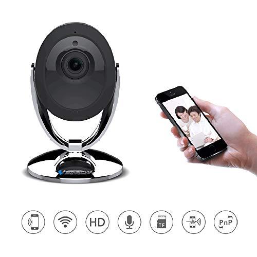 BESTSUGER 1080p-Heimkamera, Mini-HD-IP-Kamera, kleine Überwachungskameras mit Motion Detection Night Vision für Heim/Büro/Baby/Kindermädchen/Pet Monitor (Motion-detection-überwachungskamera)