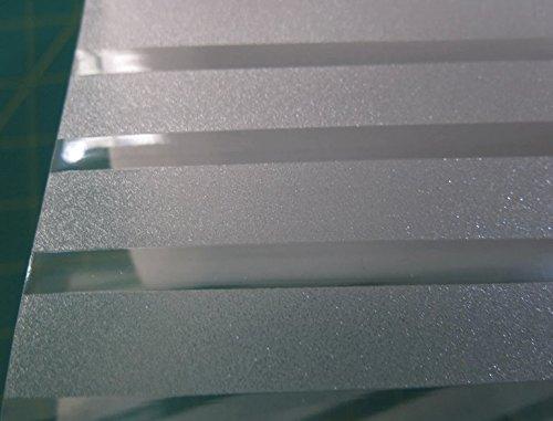 Premium 2D Statische Dekorative Sichtschutz Fenster Filme (kein Klebstoff und selbstklebend), (45x 100cm) (Streifen) The price of rice per long wide 45cm/