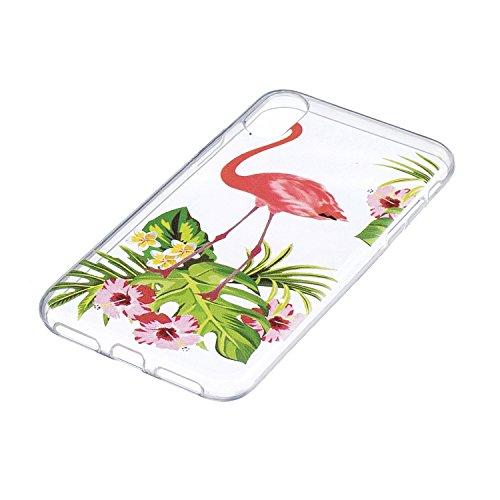 Per iPhone X Cover , YIGA Moda panda Cristallo Trasparente Cassa Silicone Morbido TPU Case Caso Shell Protettiva Custodia per Apple iPhone X (5,8) HX41