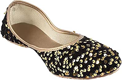 Galaxy Foot Craft Women Sitara Belly-Gold (SN5)
