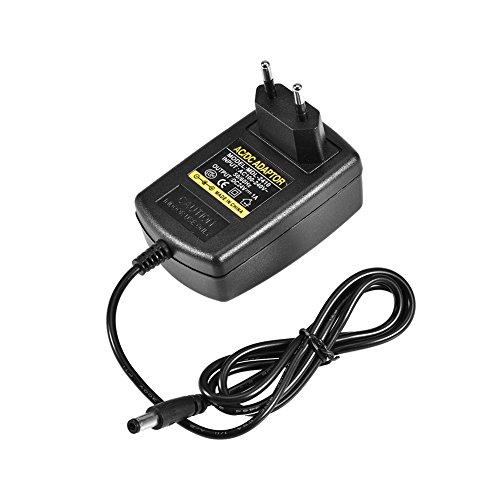 Universal AC DC Netzteil,Richer-R AC100-240V zu DC 24V 1A Adapter Netzteil Ladegerät,5,5 * 2,1mm Euro Stecker Adapter Power Supply Netzadapter,Geeignet für Mini-TV, mobile DVD, TV-Box, drahtlose Video(EU) 24v Power Box