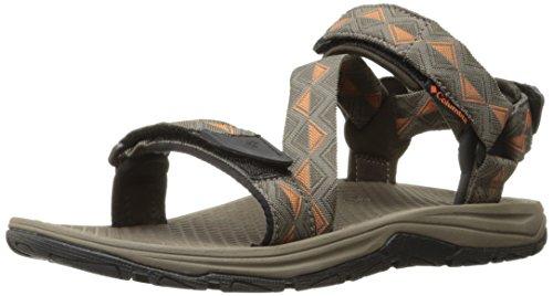 Columbia Men's Big Water Athletic Sandal, Cordovan/Desert Sun, 9 D US
