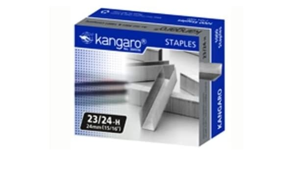 Galvanised Wire 70 Sheets Pack of 1000 24 mm Leg Length Stainless steel Rapid 24870500 23//24 Strong Staples