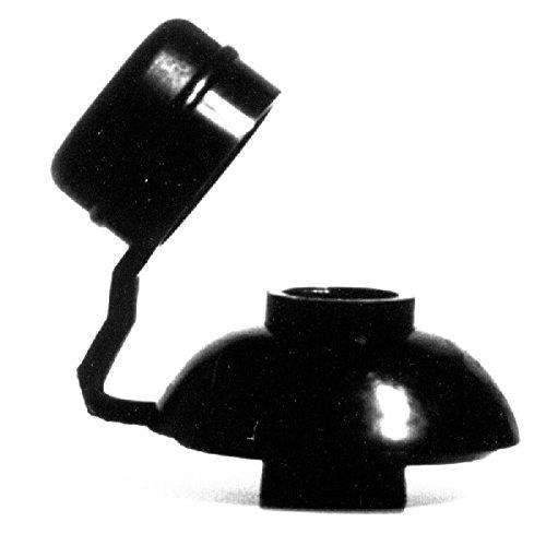 Pilzdichtung M-7 schwarz, kurzer Hut/Btl a 100 Stück