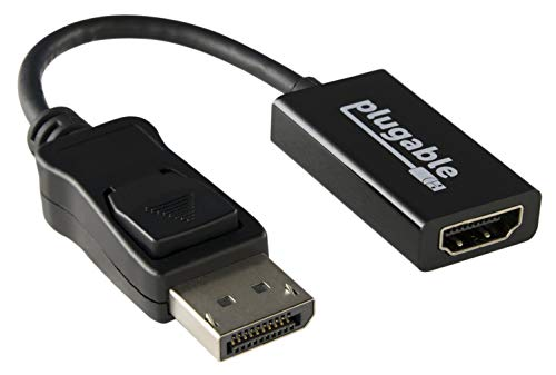 Plugable Adaptador Activo DisplayPort HDMI 2.0 Permite