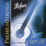 HÖFNER HPS-SET+D Premium High Tension E1-E6 Nylon-Saiten für Konzertgitarre