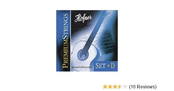 zusätzlicher D-Saite für Klassik Gitarre Höfner HCS Saiten Strings