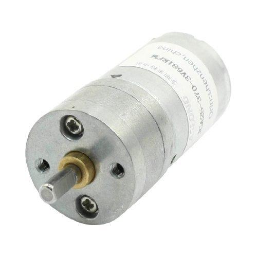 High Torque Geschwindigkeitsreduzierung Zylinder DC-Getriebemotor DC3V 681RPM