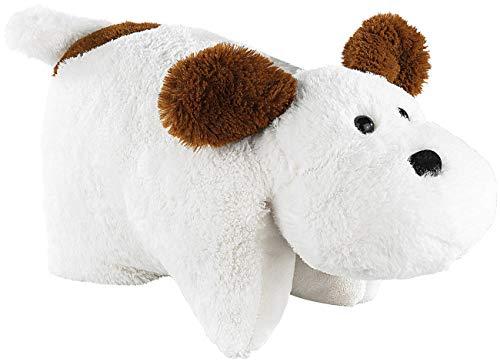 infactory Plüschkissen: Plüschtier-Kissen Hund (Plüsch-Spielzeug)