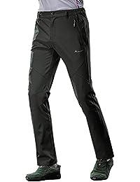 Mujer Hombre Ligero Casual Transpirable Pantalones Deportivos Impermeable Senderismo Pantalones