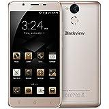Blackview P2 lite - 6000mAh Smartphone libre 4G 5.5 FHD (Android 6.0 , Octa Core, 3GB RAM+32GB ROM, dual cámara de 13MP+8MP, MT6753 1.3GHz)  - oro