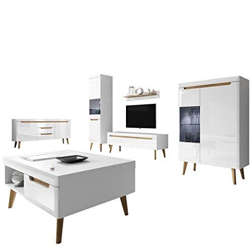 Wohnzimmer Nordi I Elegantes Wohnzimmer Set Im Skandinavischen Stil