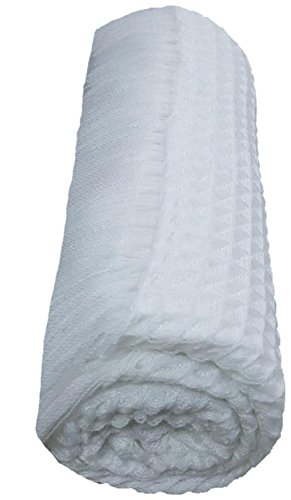BRANDONN Newborn Fluffy Acrylic Woolen Handloom All Season Baby Shawl Cum Wrapping Top Sheet