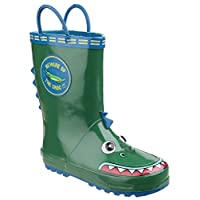 Cotswold Puddle Boot Boys Wellies Crocodile - Crocodile - UK Size 8