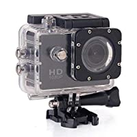 GoPro Style Black Action Camera Full HD 1080P 12.0 MP WiFi 1.5 Inch LCD Accessories Set (SJ5000W)