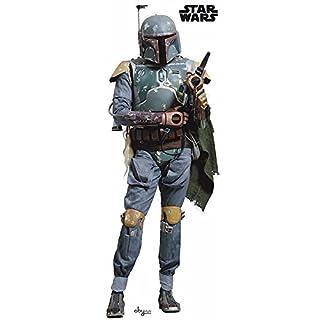 Star Wars AbyStyle Boba Fett Aufkleber (Mehrfarbig)