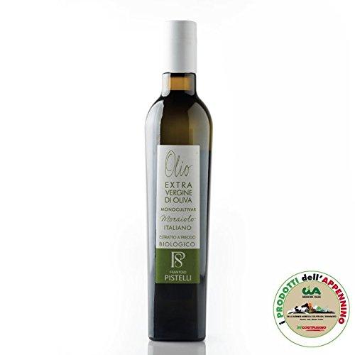 Frantoio oleario pistelli - olio extra vergine di oliva bio monocultivar moraiolo, 500 ml