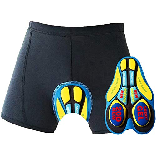 Oleein Ciclismo Mutande Gel 3D Imbottite Bicicletta Pants Uomo& Le Signore Pantaloncini Pantaloni Bici Biancheria Intim