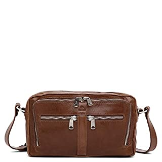 Adax Liv Brown Salerno Shoulder Bag