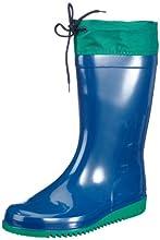 ROMIKA Bobby, Bottes de Pluie Mixte Enfant, Bleu (Blau-Minze 524), 32 EU