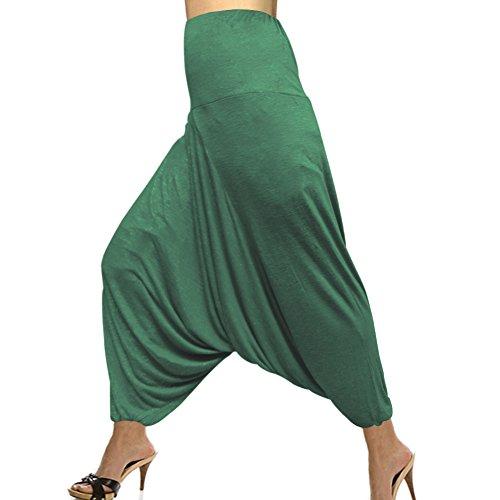 fashion-wear-single-color-hosiery-cotton-elastic-waist-afghani-harem-pant