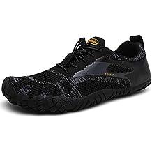 fcaf4a1012d Voovix Zapatos Descalzos Zapatillas Minimalistas de Trail Running para  Hombre