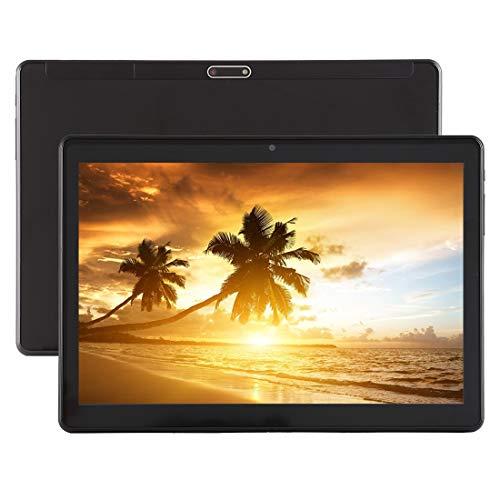 Tablet, 3G Call Tablet PC, 10,1 Zoll, 1 GB + 16 GB, 4500 mAh Akku, Android 5.1 MT6580 A7 Quad Core 1,3 GHz, Unterstützung for Dual-SIM & Bluetooth & WLAN & G-Sensor & GPS & FM & OTG (Farbe : Black) -