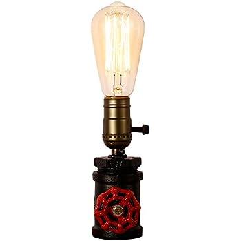 Loft Lampe Cafe Lampes Injuicy Pour Studio À Rétro En Métal Chevet Industriel Poser Table Vintage Antique Socle Nuit Bureau De TKl1cFJ