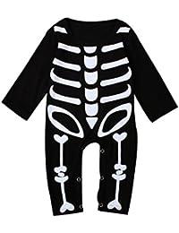 Ouneed® 0-2 ans Naissance Bebe Grenouillere Longue Déguisement Halloween