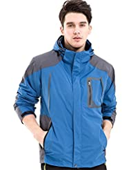 XLHGG Venture veste, vêtements de sport Outdoor coupe-vent imperméable à l'eau Jacket(Warm two-piece)