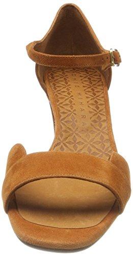 Chie Mihara Lace, Sandali con Cinturino Alla Caviglia Donna Arancione (Ante Biscuit)
