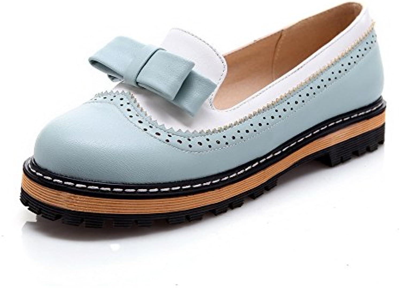 allhqfashion woHommes 's round fermé toe talons bas matériau matériau matériau souple tire sur les pompes de chaussures b01nbqtkcs par en t 3f363a