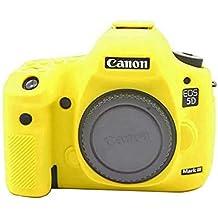yingge goma protectora piel Funda para Cámara Cuerpo–Carcasa de silicona para Canon EOS 5d mark iii 5D3, 5Ds cámara