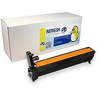 Refresh Cartridges Remanufacturado Unidad De Tambor Recambio para Oki Tipo C6 / Oki 42126605 (Amarillo Tambor De Imagen)